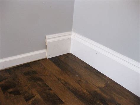 lowes floor trim rapidfit molding pretty snazzy way to upgrade your baseboards dining room ideas pinterest