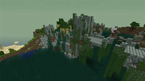 abandoned city minecraft project