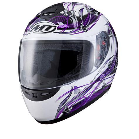 ladies motorcycle helmet mt thunder butterfly ladies motorcycle helmet full face