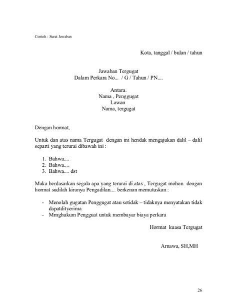 Contoh Surat Kuasa Di Pengadilan - Miharu Hime