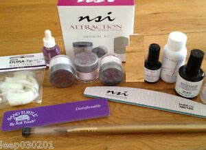 Nsi Attraction Acrylic Natural Nails Deluxe Starter Kit