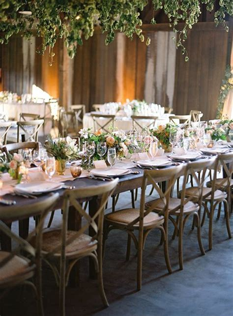 wedding tables and chairs 17 best images about rustic wood cross back chairs on