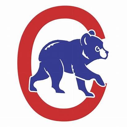 Cubs Chicago Clip Logos Clipart Mlb Icon
