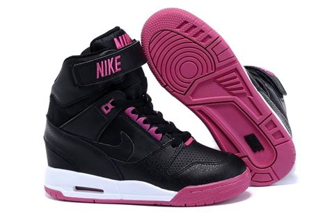 Nike Wedges White Pink nike wmns wedges air revolution sky hi shoes black and