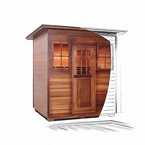 products 4 person outdoor infrared saunas