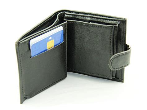 porte monnaie porte cartes porte billets noir pour homme destockage