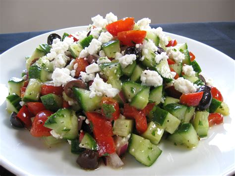 greek salad the kids cook monday