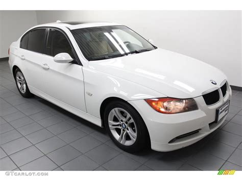Alpine White 2008 Bmw 3 Series 328i Sedan Exterior Photo