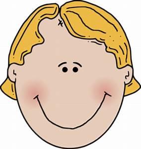 Happy Boy Face Clip Art at Clker.com - vector clip art ...