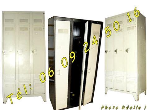 2 armoires m 233 talliques vestiaires 3 portes industrielles