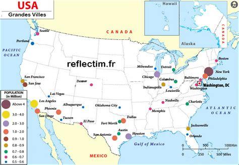 Carte Etats Unis Canada Avec Villes by Grandes Villes 233 Tats Unis 187 Vacances Arts Guides Voyages
