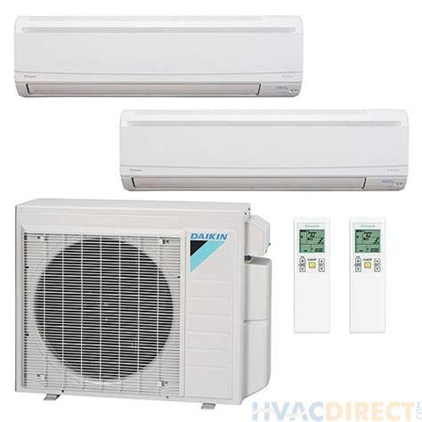 split system btu ductless daikin mini zone dual heat pump seer air splits wall cooling heating mounted ac 36k multi