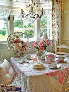 Wonderful Shabby Chic Style Dining Room Design