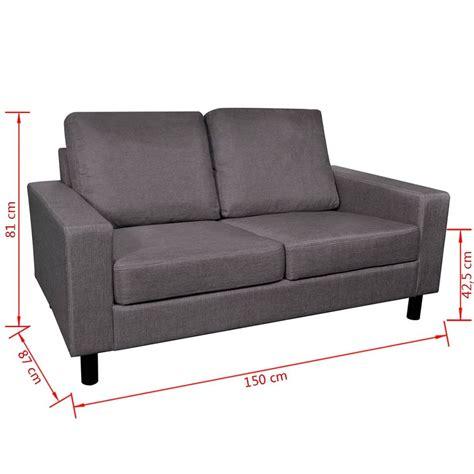 ensemble canape acheter ensemble canapé gris foncé 2 places et 3 places