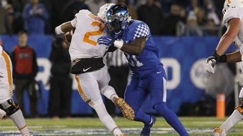 Kentucky football vs. Tennessee: TV channel, kickoff time