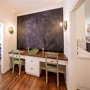 Home Office : 20 chalkboard paint ideas to transform your home office ~ Watch28wear.com Haus und Dekorationen