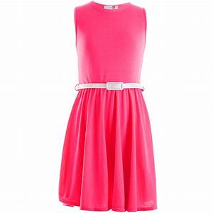 Girls Skater Dress Kids Neon Bright Holiday Party Dresses ...