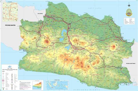 peta kota peta jawa barat