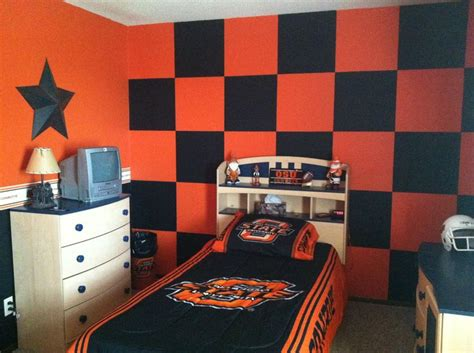 bed okc oklahoma state bedroom collegiate