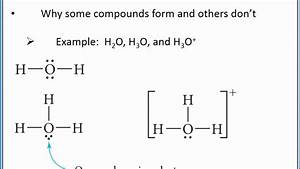 Chemistry 101 - Basics Of Lewis Structures For Molecular Compounds