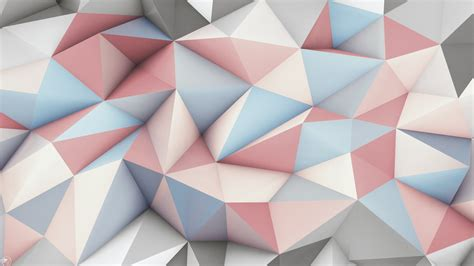 abstract polygons textures volume hd wallpaper