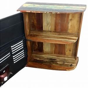 Schrank Metall Holz : kommode sideboard schrank anrichte tata front industrial design loft metall holz ebay ~ Indierocktalk.com Haus und Dekorationen