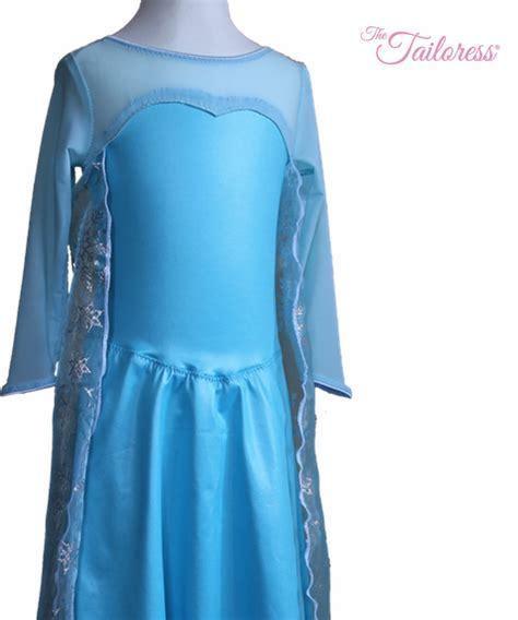 schnittmuster kleid elsa prinzessin elsa gefrorenes kleid mit cape pdf schnittmuster die schneiderin