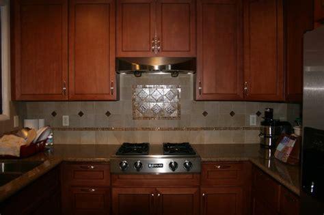 kitchen granite counter w italian porcelain tile back