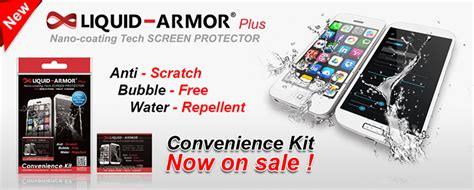 Liquid Armor Nano Nanotechnology Screen Protector Cell
