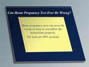 Clicks Home Pregnancy Test Instructions