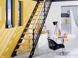 Quel escalier pour les combles elle decoration for Escalier pour combles