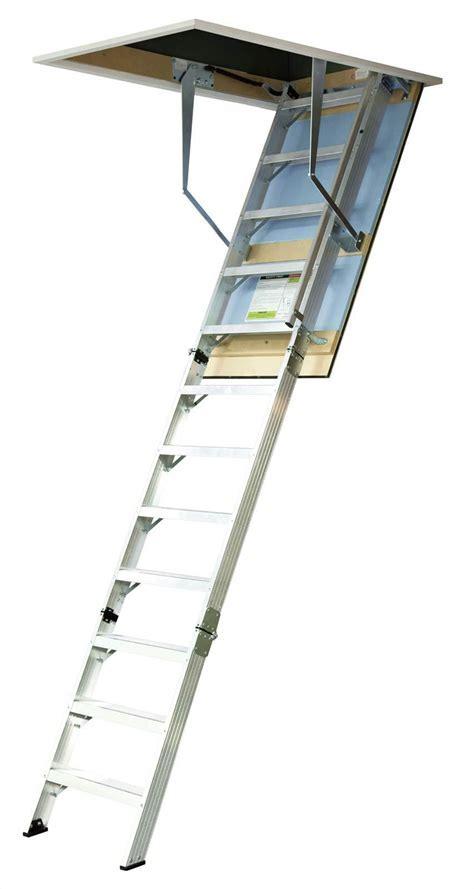 KASW06W Wide Ultimate Series Aluminium Attic LAdder