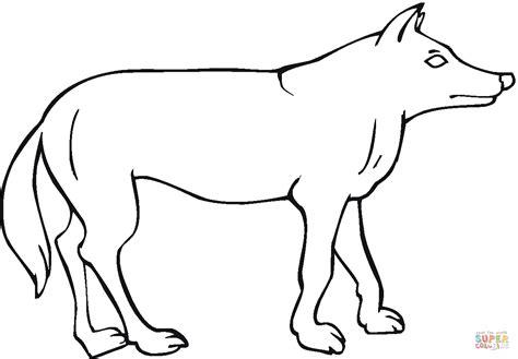 Easy Coyote Drawings Wwwimgkidcom The Image Kid Has It