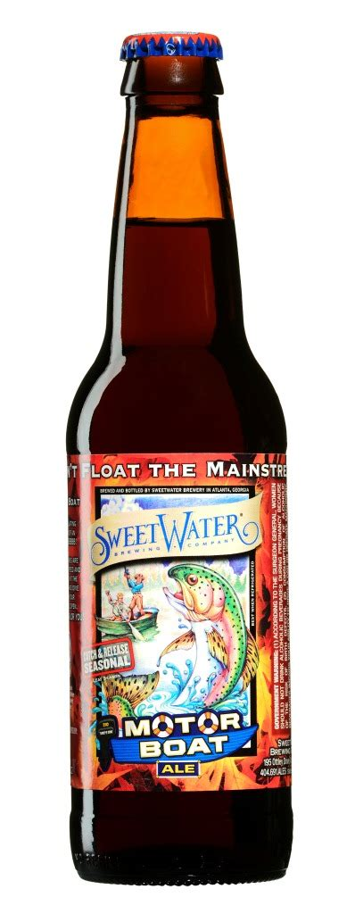 Motorboat Beer by Motor Boat By Sweetwater Brewing Company Returns