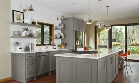 gray green paint kitchen colors color schemes and designs