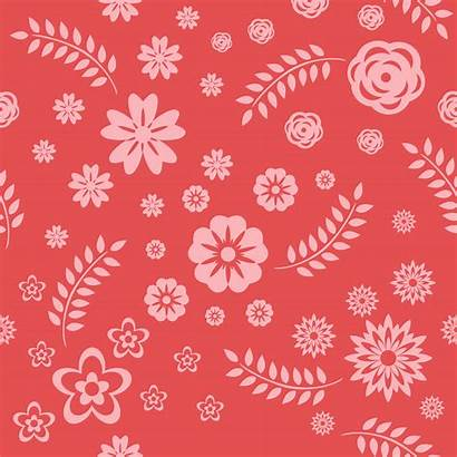 Floral Pattern Patterns Vector Photoshop Seamless Flowers
