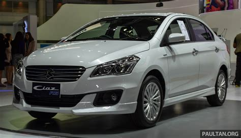 Suzuki Ciaz Backgrounds by Suzuki Ciaz Rs Kitted Up Model On Show In Bangkok