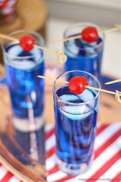 4th of july themed drinks celebrate summer with this blue cocktail celebrations at home