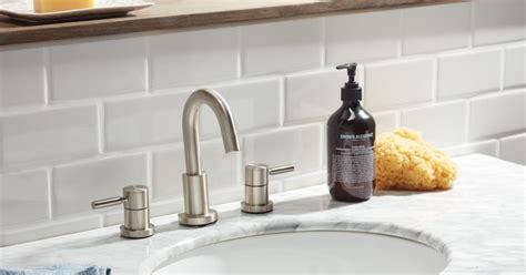 Overstock Tile Backsplash : How To Install A Tile Backsplash In The Bathroom