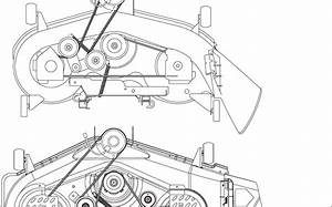 34 Cub Cadet Lt1045 Deck Belt Diagram