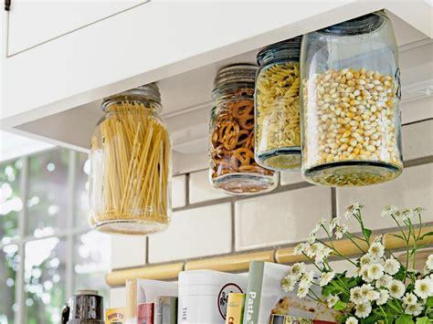 how to make hanging mason jars for storage hgtv