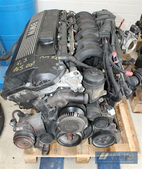 bmw 3er e36 323i 323ti motor triebwerk m52 256s3 wenig km top ebay