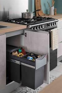 Poubelle Cuisine Sous Evier : nos autres accessoires meubles de cuisine pinterest ~ Carolinahurricanesstore.com Idées de Décoration