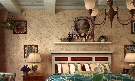 Desk For Bedroom by Wallpaper Designs For Bedroom Of America Country Style