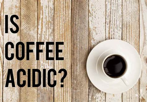coffee acidic coffee acidity guide kitchensanity