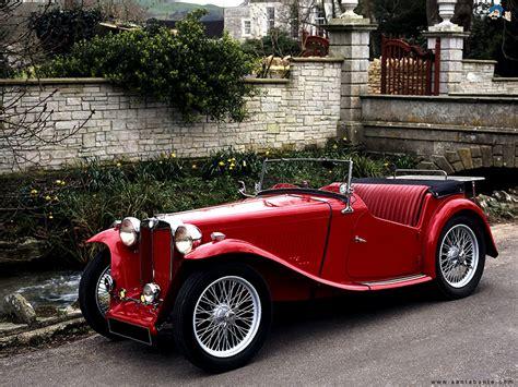 Red, Sports Car, Vintage Car, Classic Car