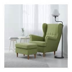 strandmon wing chair skiftebo green ikea
