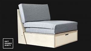 how to make a sofa bed youtube With how to make a sofa bed