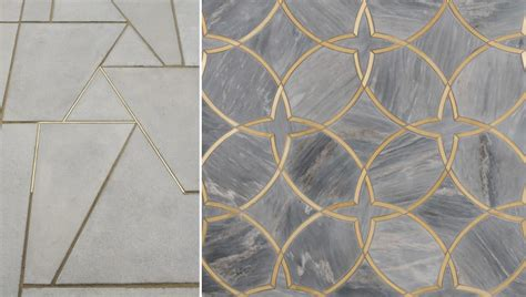 colorful grout  simple tiles   big trend  interior design
