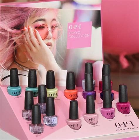 opi new colors opi 2019 tokyo collection new in 2019